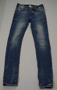 ONLY-amp-SONS-Hr-Jeans-Stretch-MAR-SLIM-Used-Optik-Slim-Fit-blau-Gr-30-32-Zipp