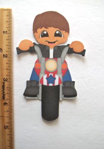3D UPick New08 Fairies Summer Motorcycle Animals Card Scrapbook Embellishment