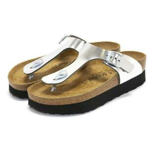 Papillio-by-Birkenstock-Womens-Gizeh-Platform-Open-Toe-Slip-On-Flat-Sandals-NEW