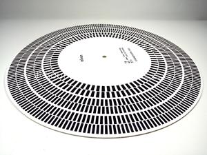 Elvon-Stroboskop-Scheibe-Acryl-Plattenteller-Matte-Ausrichtung-Winkelmesser-Strobe-Disc-c2