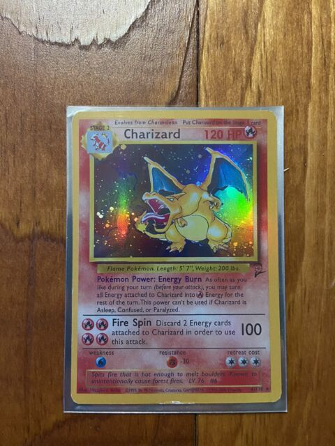 Charizard Base Set 2 Holo **PROXY** Card