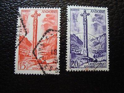 146 148 Gestempelt A19 Modern And Elegant In Fashion Andorra Französisch Briefmarke Yvert Und Tellier Nr Andorra Stamps