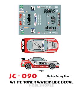 Jc 9090 White Toner Waterslide Decals Custom 1 64 Hot Wheels Ebay