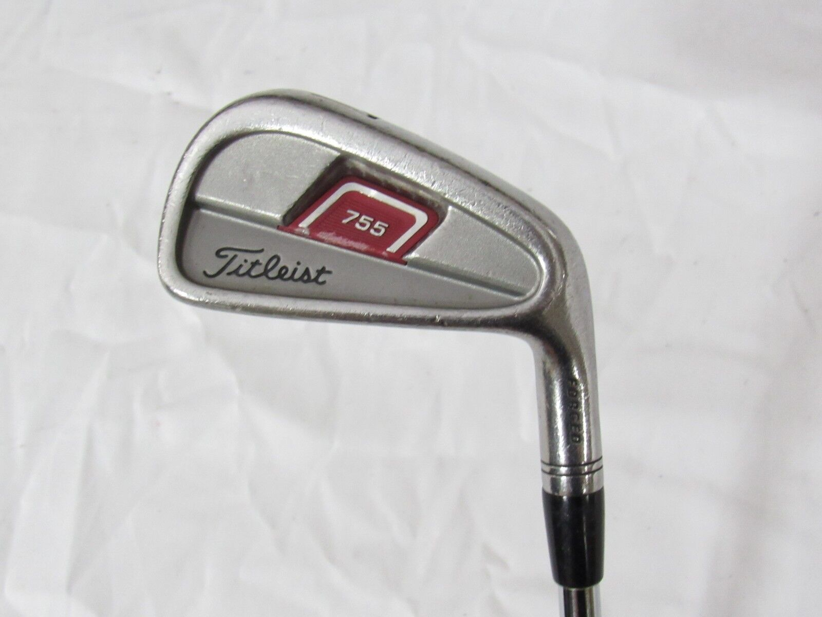 Used RH Titleist 755 Forged Single 7 Iron Titleist Tri Spec Steel Regular Flex R