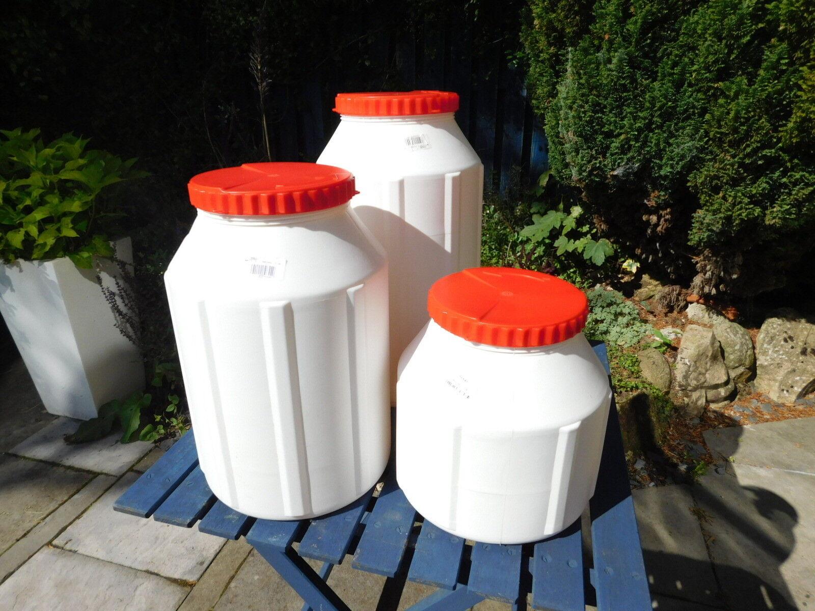 New Lalizas Waterproof Plastic Storage Tubs