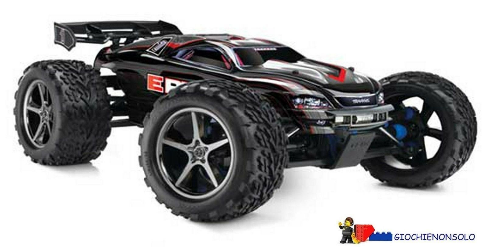 TRAXXAS TXX56036 - E-REVO RACING TRUCK RTR 2,4 GHZ