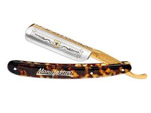 """Beauty & Gesundheit Gut BÖker Boker Premium-selection Rasiermesser Schildpatt 6/8"""" Gold Solingen Germany Entlastung Von Hitze Und Sonnenstich Rasiermesser"""