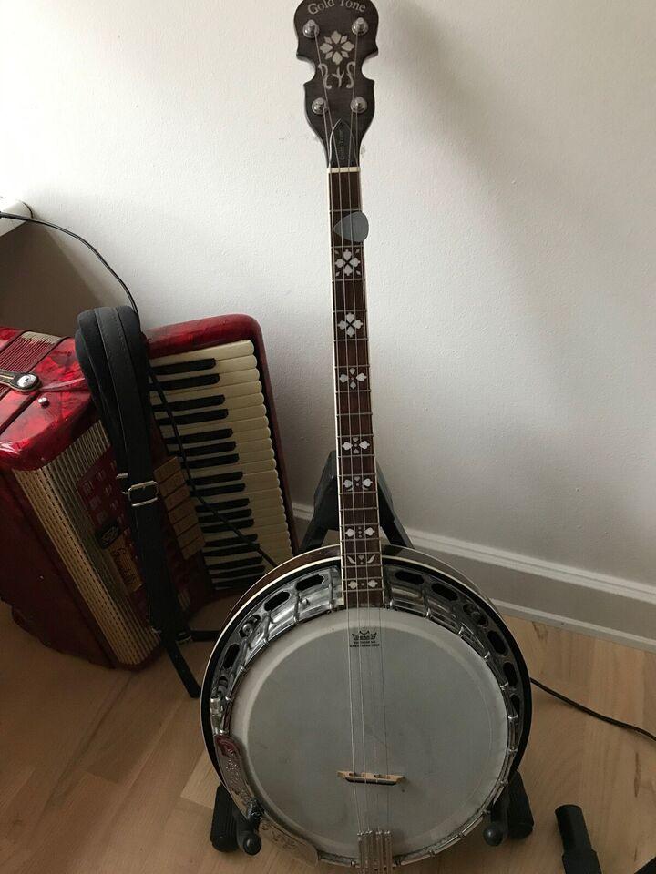 Irish Tenor Banjo, Gold Tone