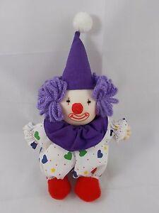 """Russ Clown Plush BOBO 5/"""""""