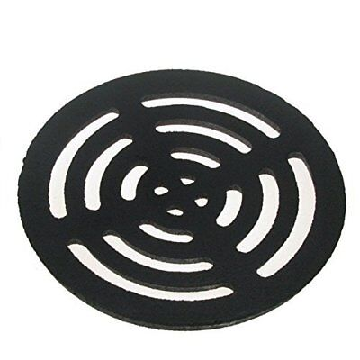 Stronger 8 inch Square Solid Metal Steel Gully Grid Heavy Duty Drain Cover Grate Like cast Iron