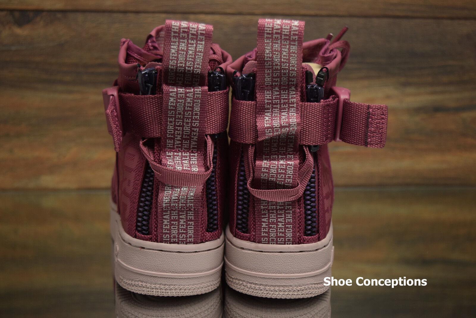 Nike SF Air Force 1 MID FIF Vintage Wine Wine Wine AJ1698-600 Women's shoes Multi Size 1f561d