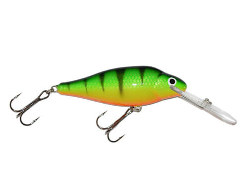 *AR7FDR-* for big pike perch 7cm 12g// floating deep runner Details about  /Gloog Ares 70DR