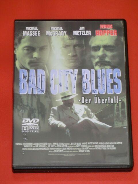 DVD - Bad City Blues - Der Überfall DENNIS HOPPER Michael McGrady JIM METZLER