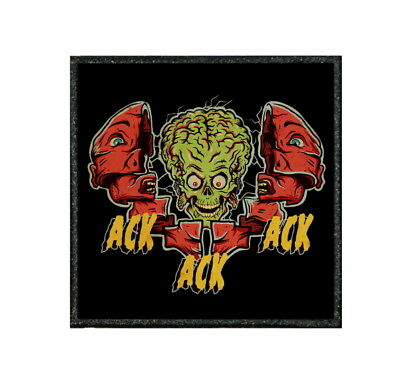 """ALIENS PULSE RIFLE  COSPLAY BADGE 064B /""""TIV/"""" FUNNY MORALE PATCH"""