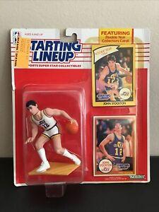 1990 John Stockton Starting Lineup - NBA Basketball - Utah Jazz - HOF - SP