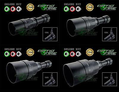 Opticfire ® Ag 3 Led Ad Alta Potenza Deluxe Caccia Lampada Torcia Lamping Pistola Luce Kit- Essere Accorti In Materia Di Denaro