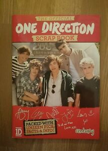 One Direction 1D 2012 Official Souvenir Scrapbook Harry Louis Zayn Liam Niall - <span itemprop='availableAtOrFrom'>Largs, North Ayrshire, United Kingdom</span> - One Direction 1D 2012 Official Souvenir Scrapbook Harry Louis Zayn Liam Niall - Largs, North Ayrshire, United Kingdom