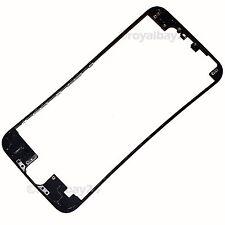 """iPhone 6 LCD 4,7"""" Mittel-Rahmen Halterung Fassung schwarz Frame Plastik+Kleber"""