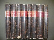 Archeologia Roux Herculanum Pompei 1870 8 volumi 700 incisioni Ercolano erotica