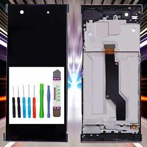 Display-fuer-Original-Sony-Xperia-XA1-G3121-LCD-TouchScreen-Schwarz-RAHMEN