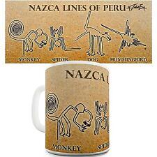 Nazca Lines Tea Coffee Quirky Novelty Mug