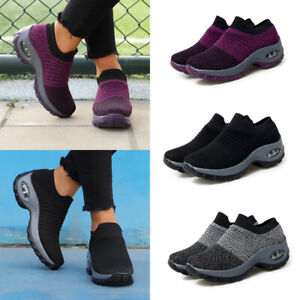 Women-039-s-Running-Shoes-Sport-Sneakers-Athletic-Tennis-Breathable-Outdoor-Trainers