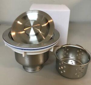 Pleasant Details About Stainless Steel Kitchen Sink Drain Strainer With Removable Basket Download Free Architecture Designs Oxytwazosbritishbridgeorg