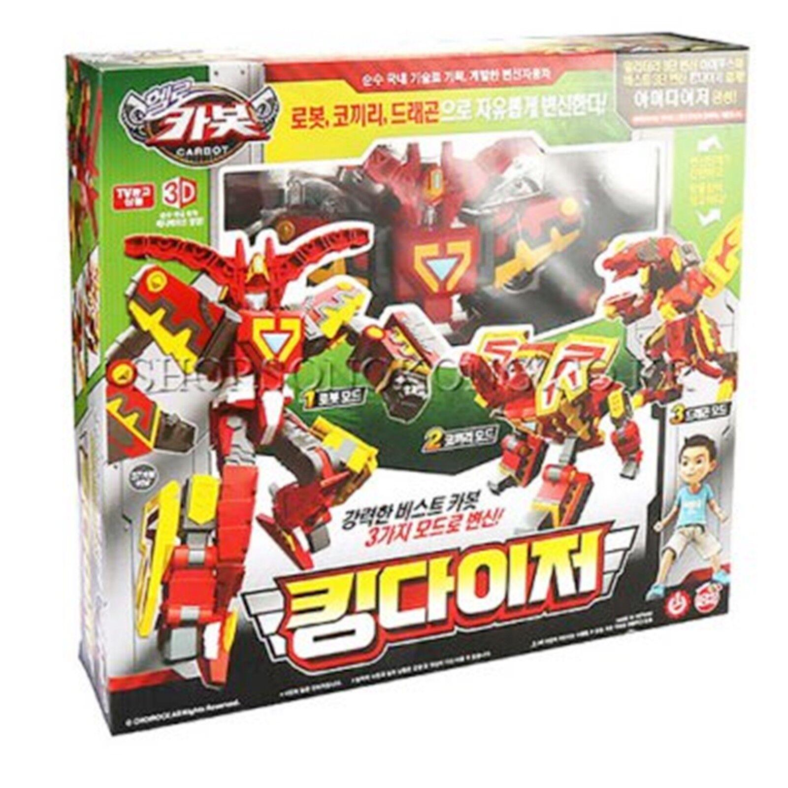 Hello Carbot KING DIZER Transformer Robot Dragon Elephant Toy Daizer Kingdizer