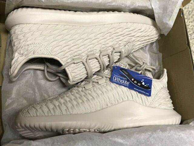official photos bd654 bcc80 Adidas Mens Size 9.5 Tubular Shadow Bb8820 3D Clear Brown