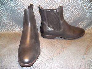 New Womens Ugg Jo Black Leather Short Ankle Sheepskin