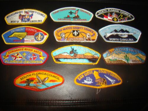 BOY SCOUT SHOULDER AND POCKET FLAP PATCHES