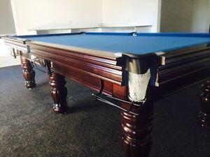 ROYAL DELUXE Quality Italian Slate Snooker Pool Table Lismore - Italian pool table