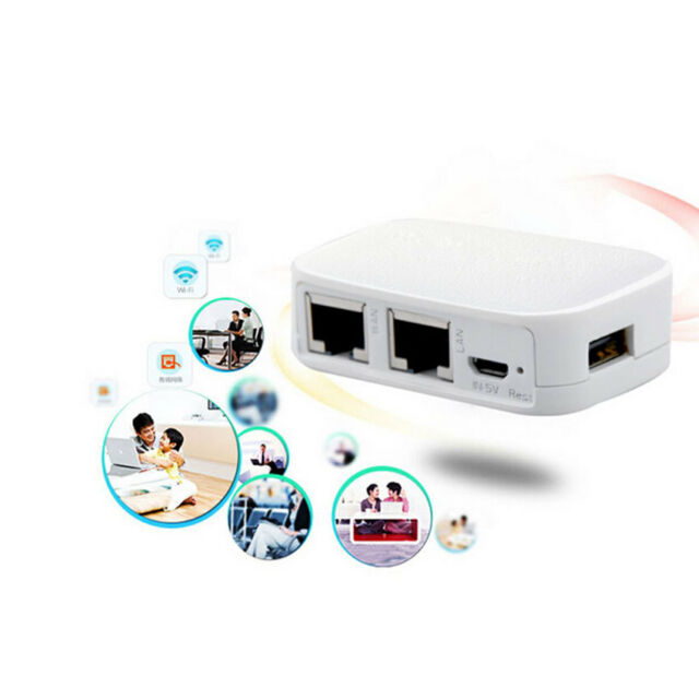 Portable Mini 802.11 b/g/n Multi Function 300Mbps Wireless Wifi Repeater Router