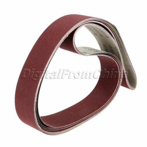 1800mm*50mm Strong Sharpness Sander Abrasive Sanding Belts Papers 400# Grit 5pc