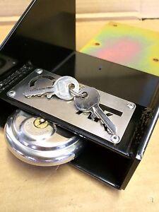 BLACK-garage-door-defender-lock-HEAVY-DUTY-SECURITY-SYSTEM-padlock-fixings