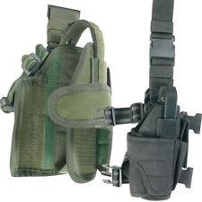 Green - Drop Leg Tactical Adjustable Universal PISTOL HOLSTER (Viper Quality