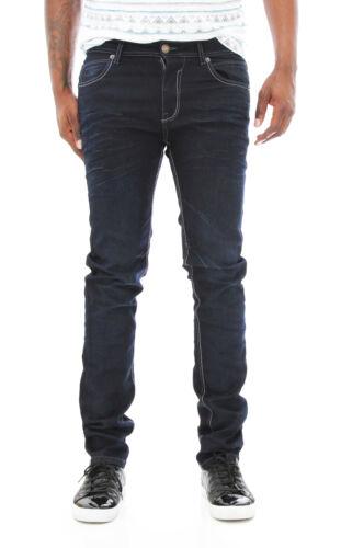 skinny pour hommes Jeans denim Rivet Cuivre Whisker 3d en FnqxZzv