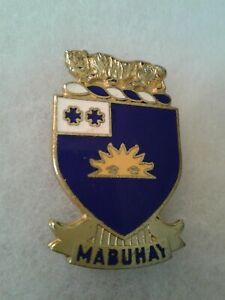 Authentic-WWII-US-Army-63rd-Infantry-Regiment-DI-DUI-Unit-Crest-Insignia-NH