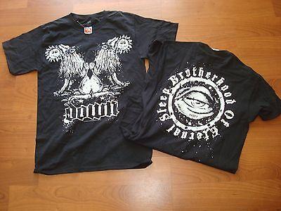 DOWN DOUBLE LIONS PANTER  METAL THRASH BAND     2011 RARE/OOP shirt SZ SMALL