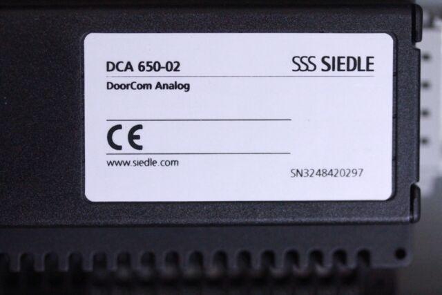 SSS Siedle DCA-650-2 DoorCom Analog