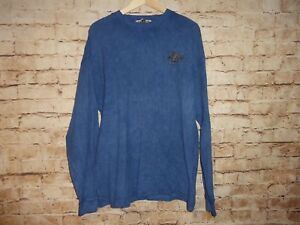 Details About Guava Beach Resort Wear Blue Long Sleeve Men S Shirt Sz Large L Maui Turtle