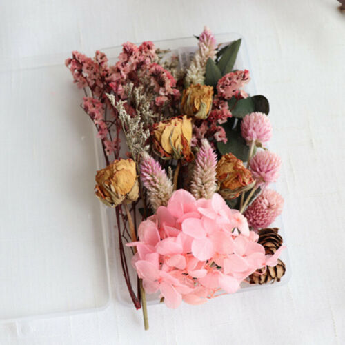 1Box Real Dried Flowers For DIY Art Craft Epoxy Resin Pendant Jewellery Making