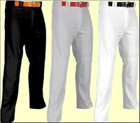 Champro Adult Mens Pro Plus Open Bottom Adjustable Baseball Softball Pants Bp6ua