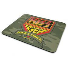 Kiss Officially Licensed Metal Logo Mouse Pad//Mat