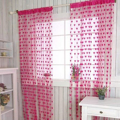 Hot Sale Heart Line String Curtain Tassel Drape For Vestibule Wall Door Window