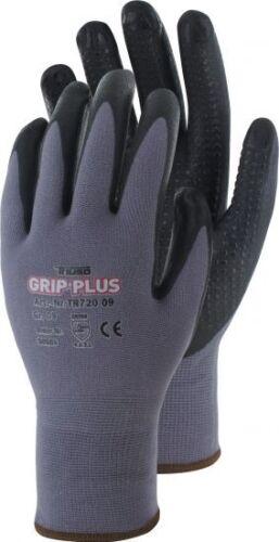 Grip-Plus Premium Arbeitshandschuhe Montagehandschuhe mit Noppen 6-Paar Gr.7-11