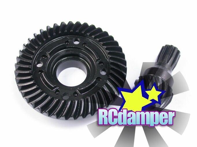 GPM X-MAXX  HARD STEEL REAR Spiral Cut DIFFERENTIAL DIFF PINION RING GEAR TRAXXAS  disponibile