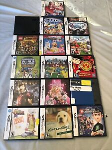 Nintendo-DS-Video-Game-Case-Lot-Of-16-Cases-Only