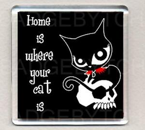 RUBY-GLOOM-HOME-IS-WHERE-YOUR-CAT-IS-fridge-magnet