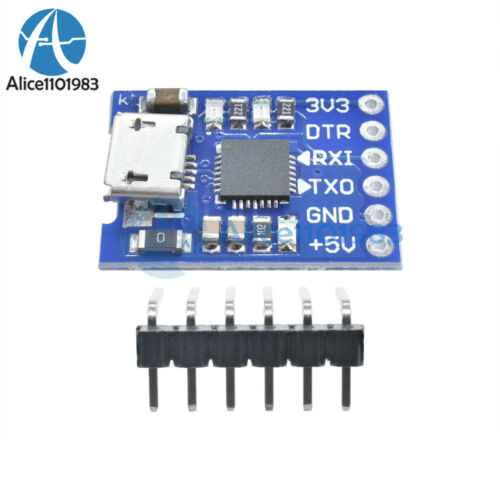 Cp2102 Micro Usb A Uart Ttl Módulo 6pin Serial Conversor Stc sustituir Ft232 Nuevo